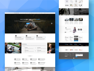 Shades of Gray - A Bootstrap Template For Gray Lovers