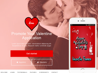 Love - Multipurpose Landing Page