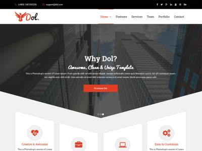 DOL - Creative HTML5 Template