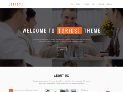 Grids - Multipurpose Bootstrap Template
