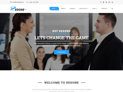 Redone - Multipurpose Bootstrap Template