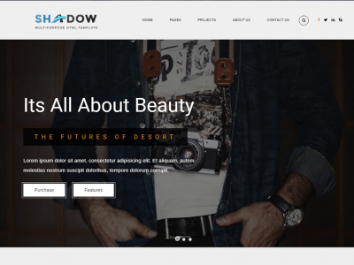 Shadow Multipurpose HTML Template