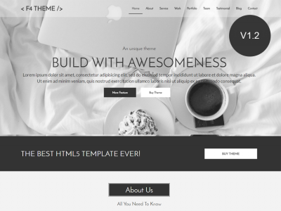 F4 THEME | Minimal Multipurpose Html Template