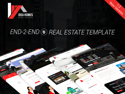 Idea Home Real Estate Bootstrap Template