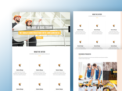 Next Construction - Constructions HTML 5 Template