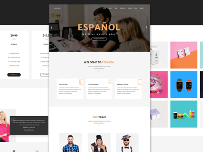 Espanol - Creative Agency Template