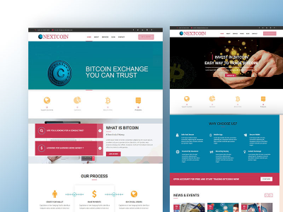 Nextcoin || Bitcoin Crypto Currency HTML template