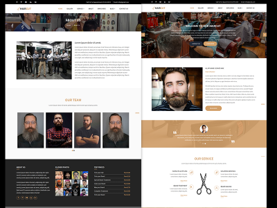 HairCut - Barbers & Hair Salon HTML5 Responsive Template