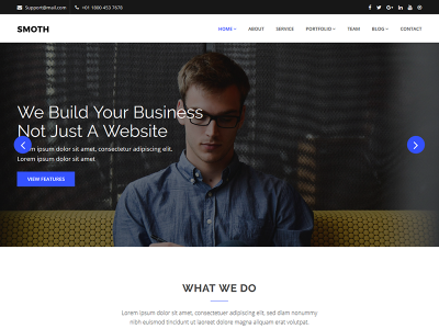 Smoth - Corporate HTML Template