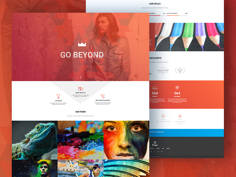 Kings - Responsive Multipurpose Template