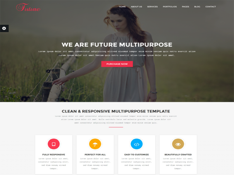 Future - Multipurpose HTML5 Template