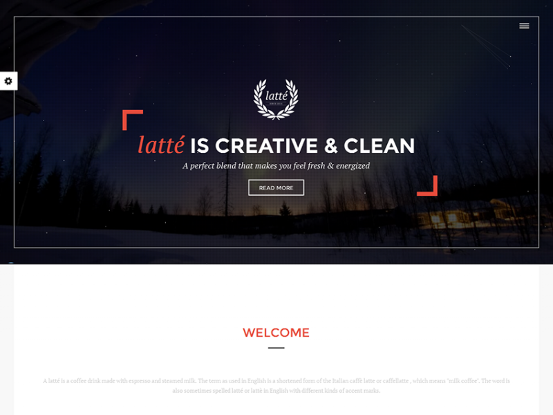 Latte - Creative MultiPurpose Theme