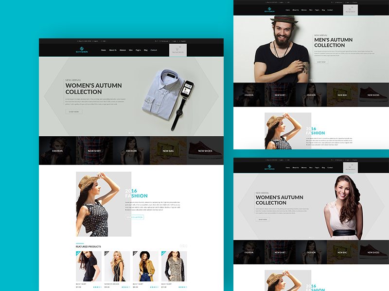 69 fashion - eCommerce Responsive Template