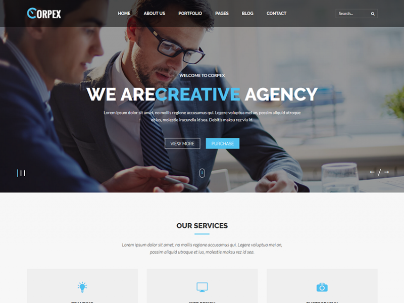 Corpex – Multipurpose HTML Template