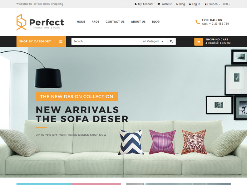 Perfect | Responsive Ecommerce HTML5 Template