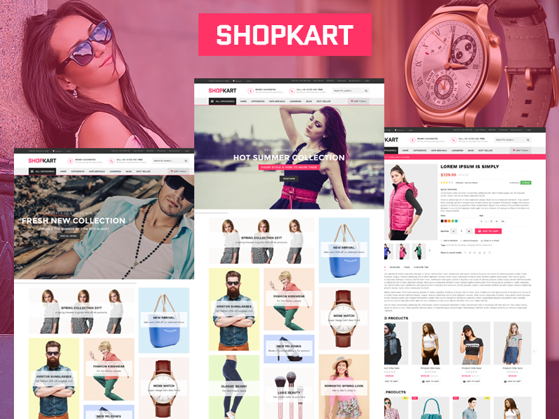 Shopkart - Fashion Shop HTML Template
