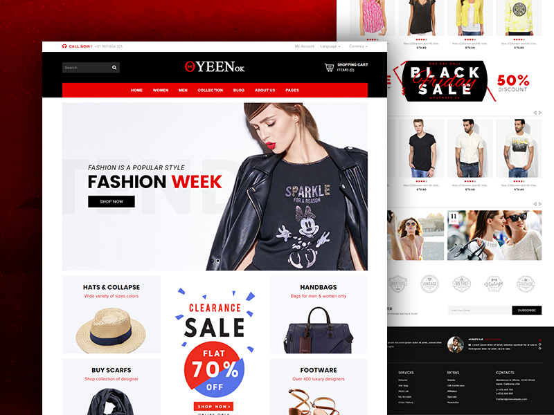 Queenok - Multipurpose Responsive Ecommerce HTML Template