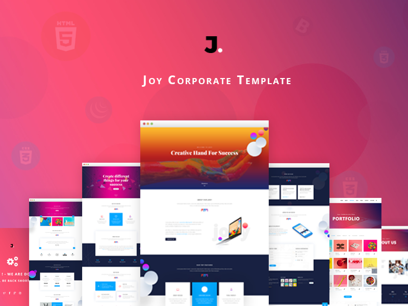 Joy - Corporate HTML Template
